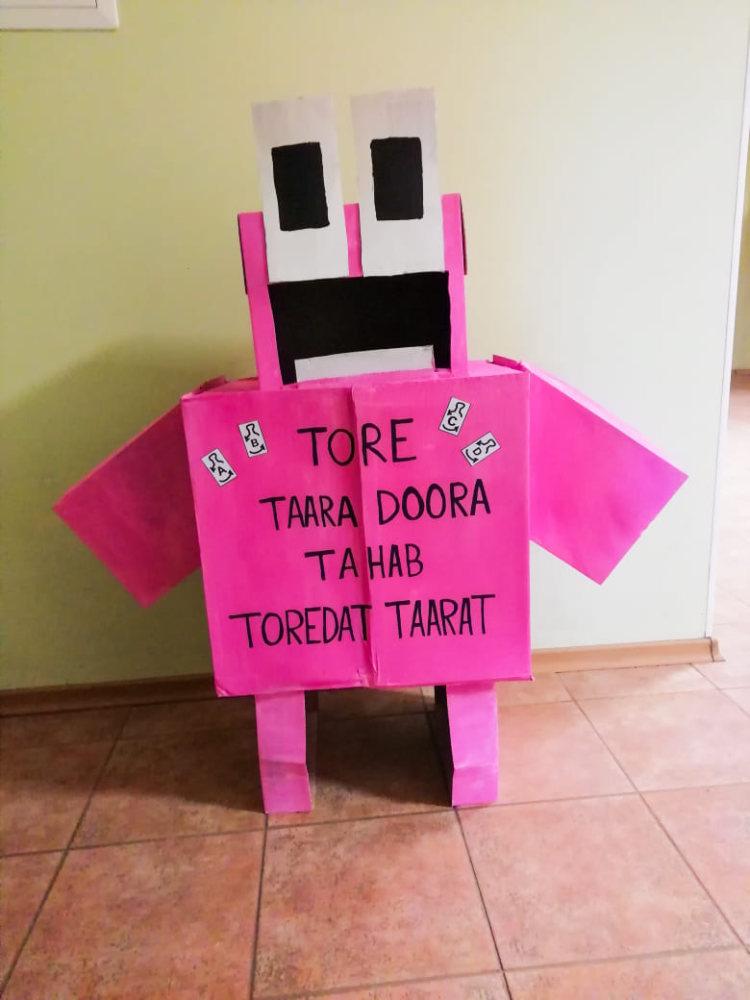 Tore taara robot Taara Doora - Tori Põhikool - TÕE klass