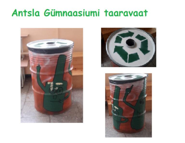 AG taaraautomaat - Antsla Gümnaasium